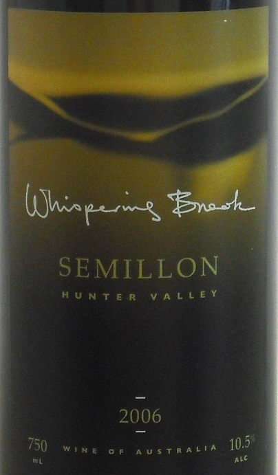Whispering Brook Semillon 2006
