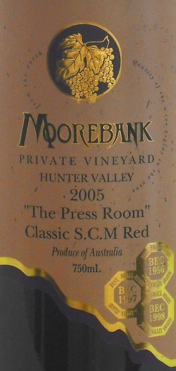 Moorebank Press Room Red  S.C.M. 2005