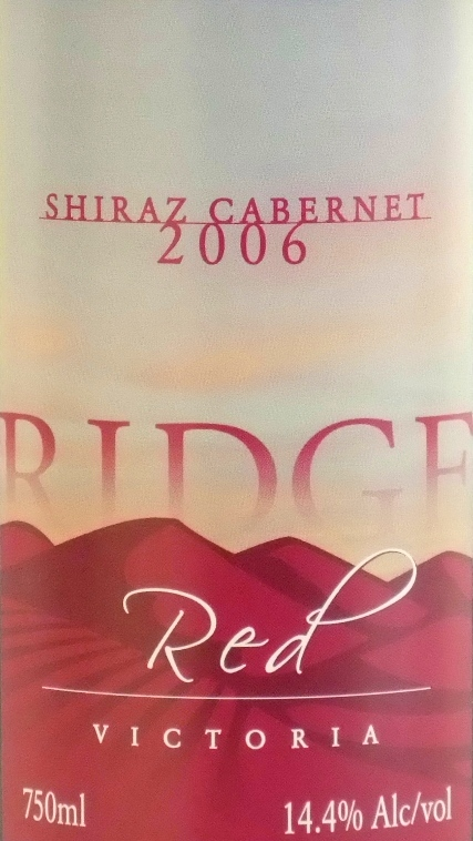 Pyrenees Ridge Ridge Red 2006