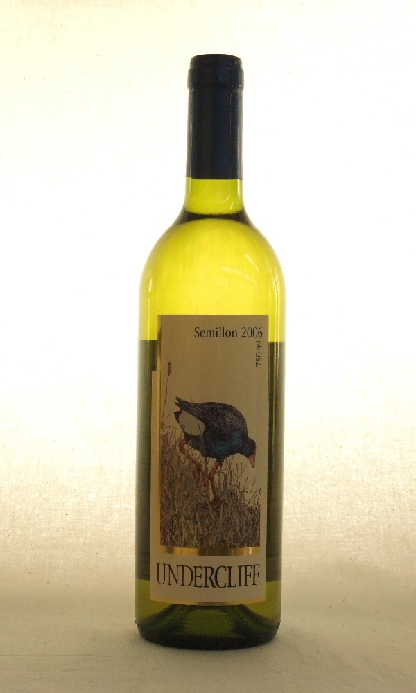 Undercliff Winery Semillon 2006 750ml